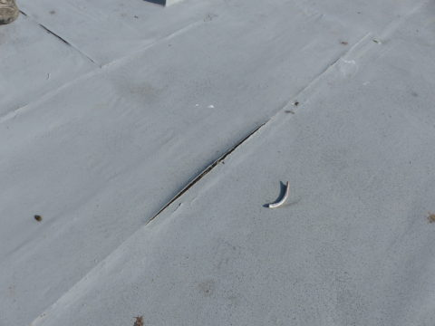 Building Survey Industrial Roof Defect