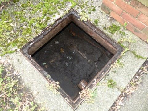 Building Survey Defect Drains